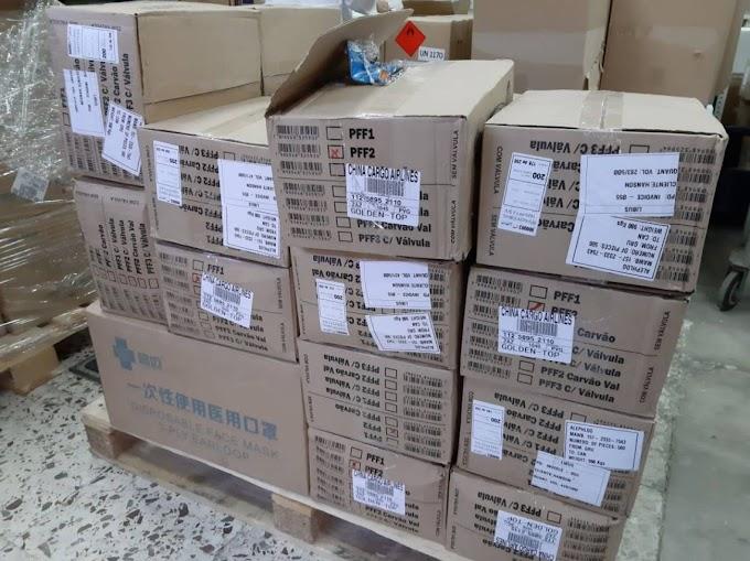 El material sanitario proveniente de China llega al Hospital General de Elche