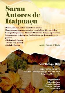 Primeiro Sarau Autores de Itaipuaçu