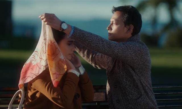 scene dalam filem Ayat-Ayat Cinta 2, watak Hulya, watak Fahri