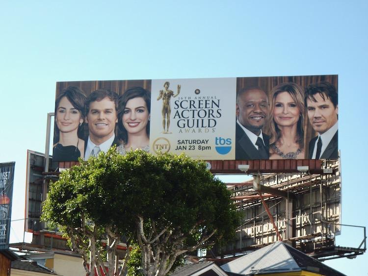 Screen Actors Guild Awards 2010 billboard