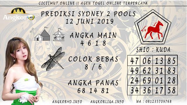 PREDIKSI SYDNEY 2 POOLS 12 JUNI 2019