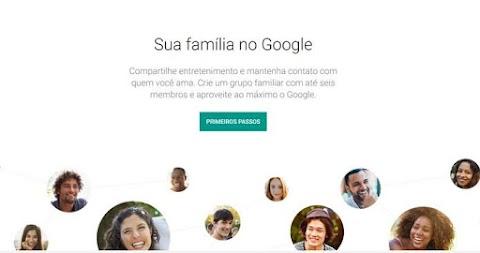 Como criar um grupo de família do Google
