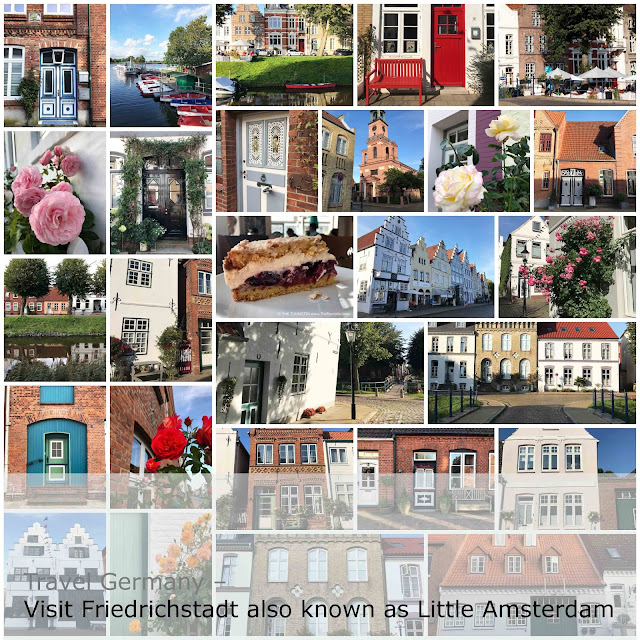 Travel Germany. Visit Friedrichstadt also known as Little Amsterdam