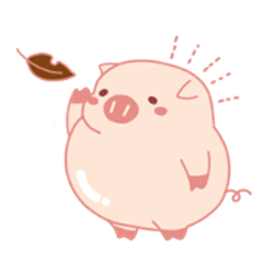 Halloween Holidays of Cute Lovely Pig