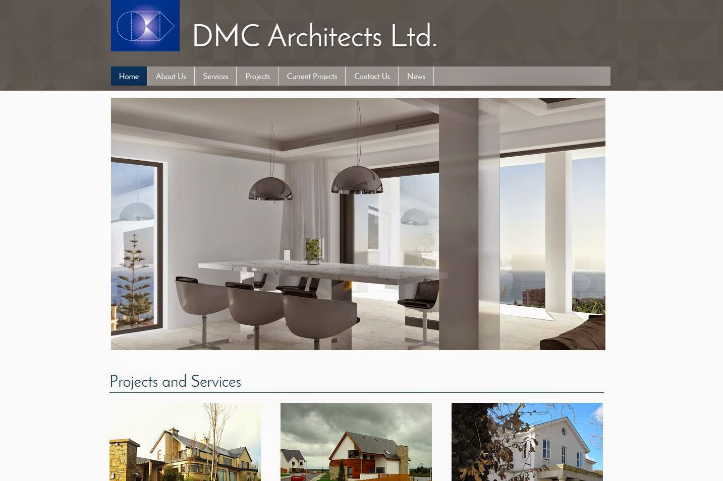 DMC Architects Website