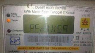 Memperbaiki kode Periksa pada meteran listrik yang benar dan paling Ampuh tanpa menghubungi teknisi listrik atau pln