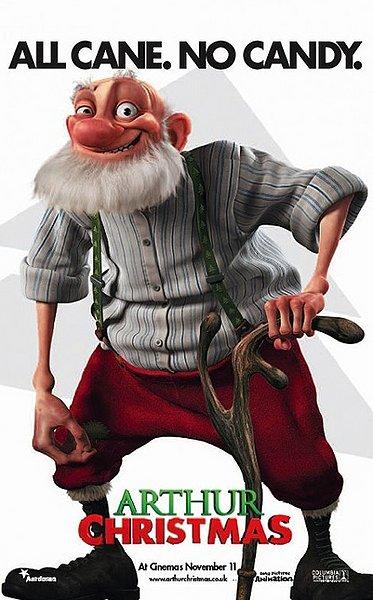 Arthur Christmas Santa.The Fine Art Diner Arthur Christmas The Author Of Christmas