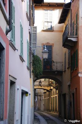 Scorcio del centro storico di Orta San Giulio