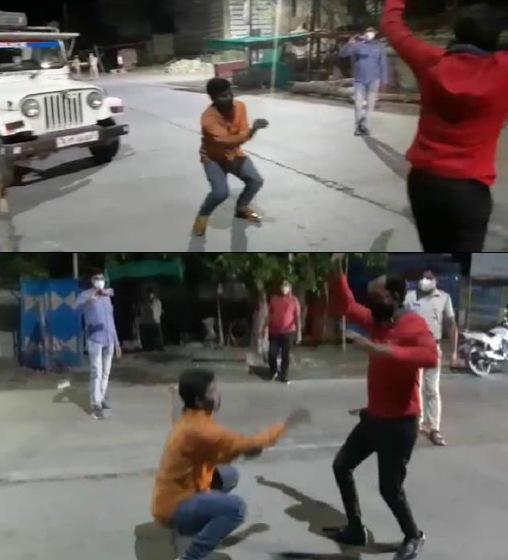 Jhalawar News- अब तक घोड़ी के आगे तो बहुत नाचे...अब Police के सामने भी नाचो !!