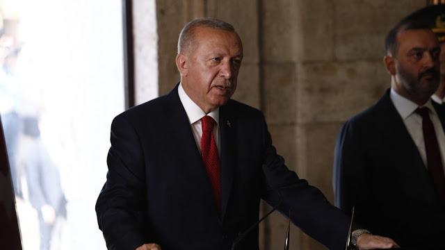 Ερντογάν: Οι ίδιοι εισβολείς θέλουν να μας αποκλείσουν από την Ανατολική Μεσόγειο