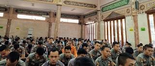 Polda Banten Gelar Binrohtal Dan Do'a Bersama Dalam Rangka Hari Lalulintas Bhayangkara Ke-64
