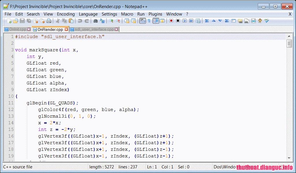 Download Notepad++V7.5.8 + Portable -Công cụ soạn thảo đa tính năng