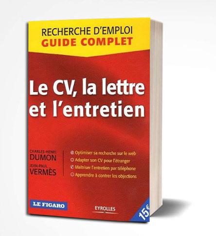 livre Le CV, La lettre et l'entretien PDF