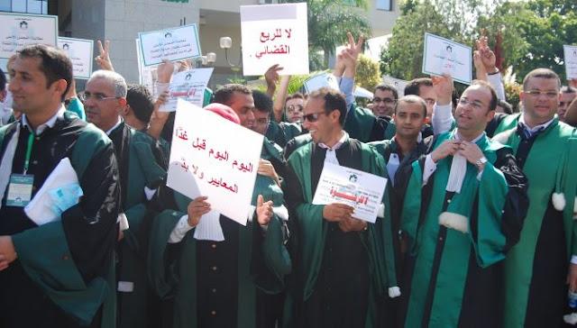 """قضاة المملكة يرفضون """"مسّ"""" مدونة الأخلاقيات القضائية بحياتهم الخاصة و""""النيل"""" من حقهم في التعبير"""