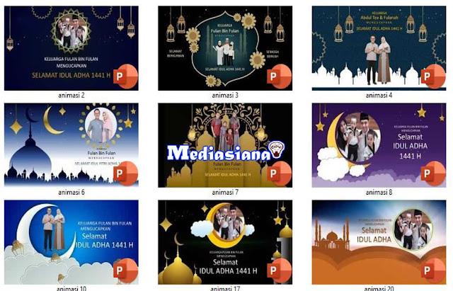 Templates Ucapan Selamat Idul Adha 2020