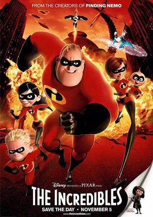 The Incredibles 2004 BRRip 1080p Dual Audio Hindi English