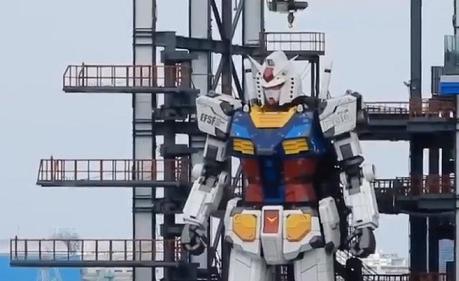 Sugoi! Patung Gundam Raksasa di Yokohama Kini Bisa Bergerak!