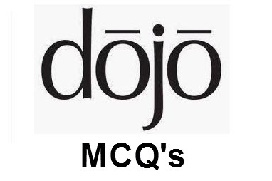 Dojo Multiple Choice Questions And Answers Pdf Free Download