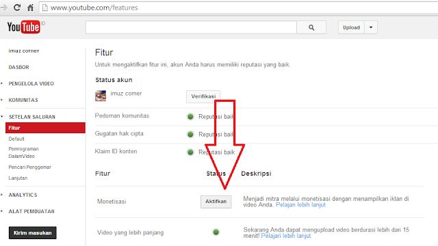 monetisasi YouTube menjadi Usaha Sampingan