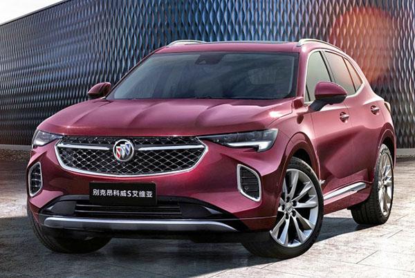 burlappcar 2021 buick envision interior