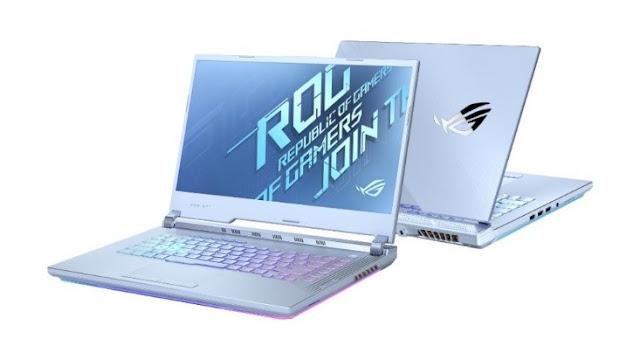 asus rog strix dengan intel core generasi ke-10
