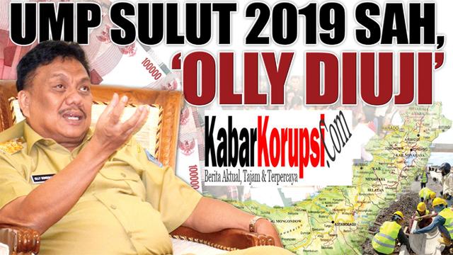Sebagian Besar Perusahan di Sulut Diduga Tidak Patuhi SK UMP 2019