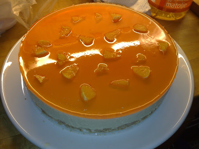 Recette du cheesecake à l'orange
