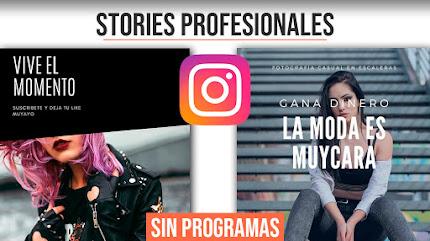 Crear Stories Profesionales para Instagram con esta Herramienta Gratuita