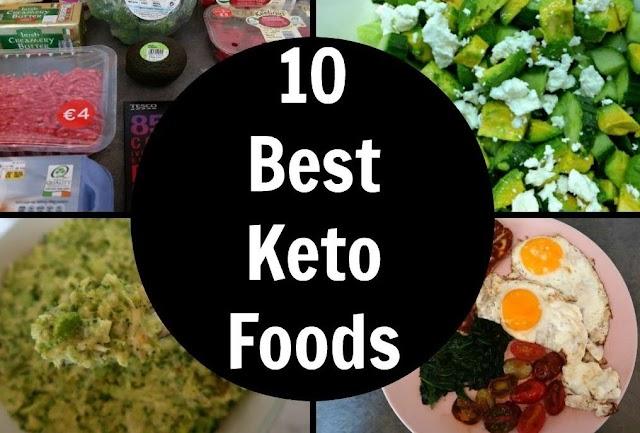 Foods for the Ketogenic Diet | Foods for keto diet list