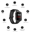 Huami Amazfit Bip S Smart Watch with Built -in GPS, Long Battery Life, Always-on Display, 5ATM Water Resistance (Carbon Black)
