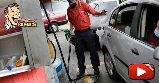 Periodista mostró cómo se dañó su carro con la gasolina sucia iraní