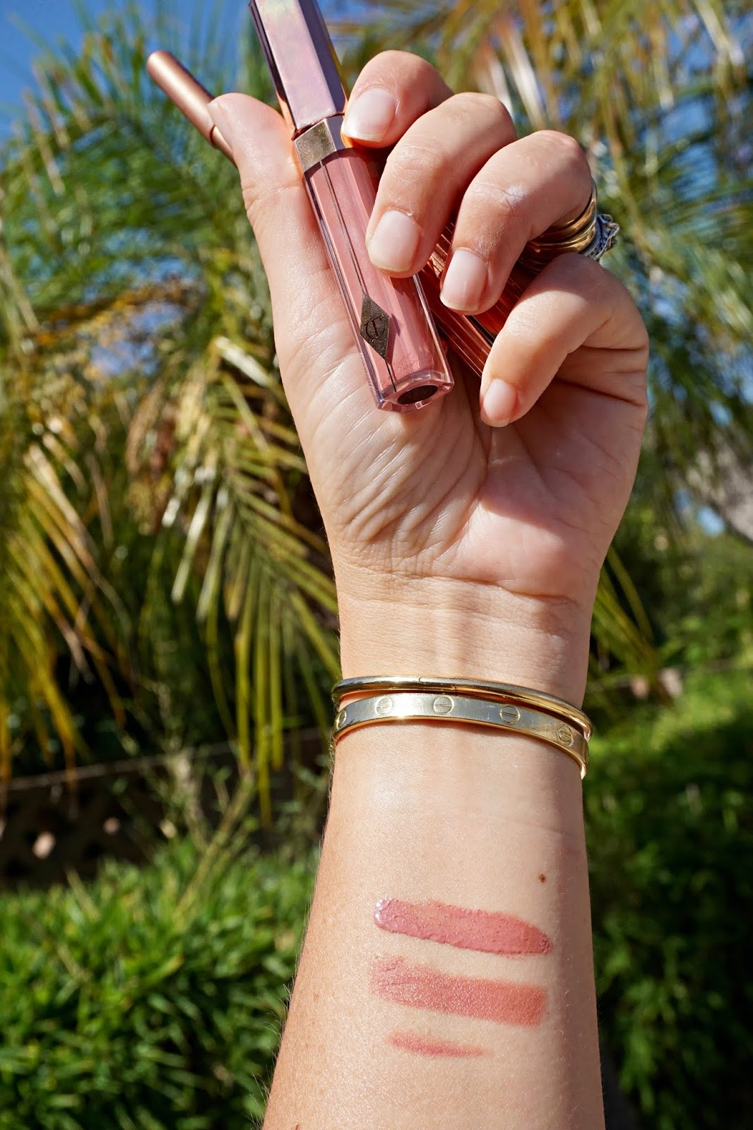 Charlotte Tilbury pillow talk lip kit Nordstrom anniversary sale swatches