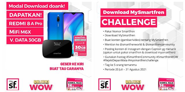 challenge download MySmartfren