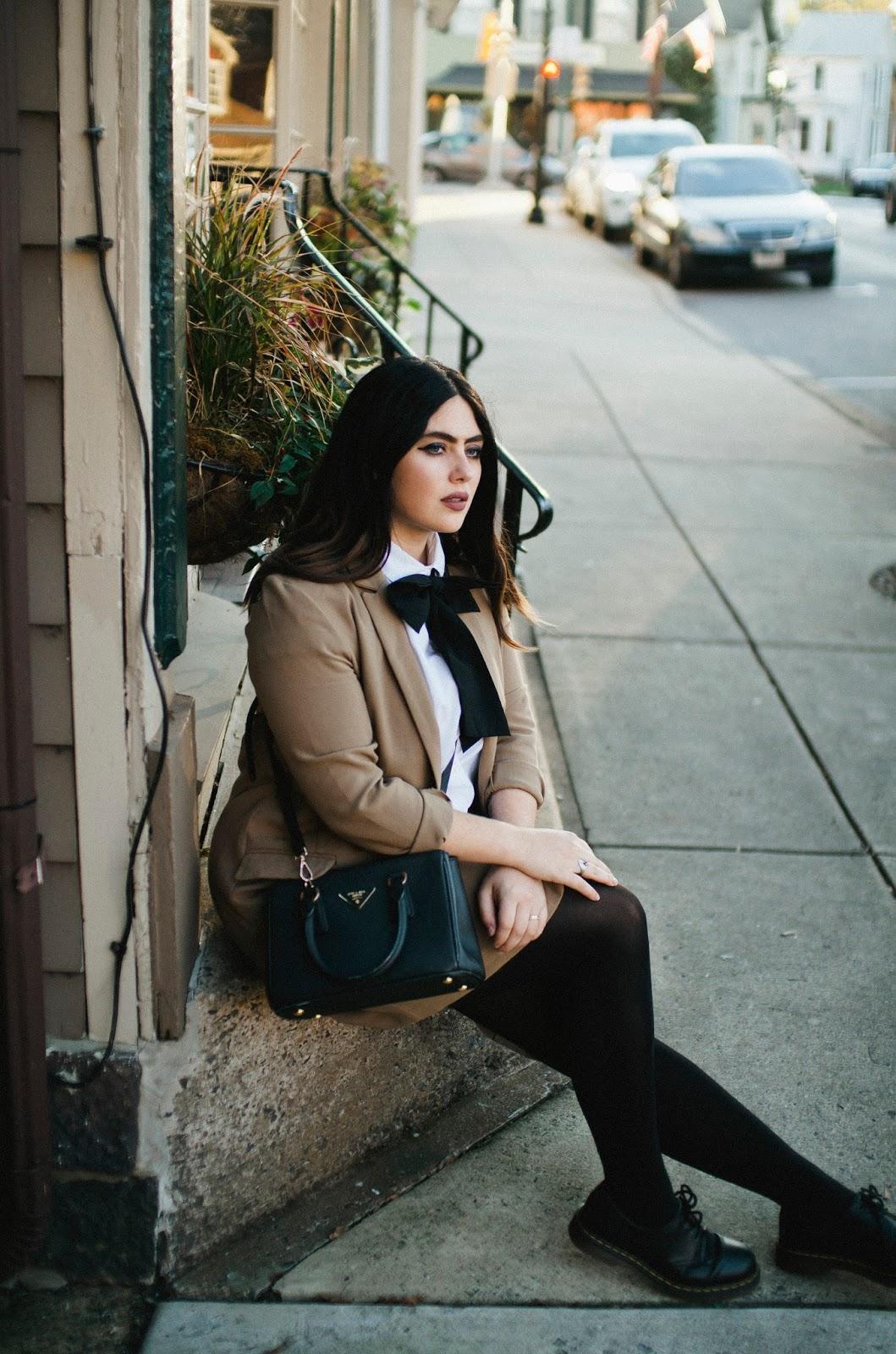 Prada, bag, street, style