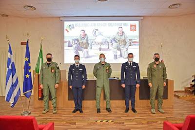 Greek pilots flight school Italy