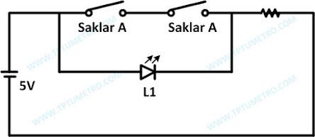 Rangkaian Dasar Gerbang NAND