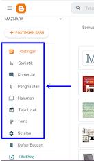 menu blogger.com