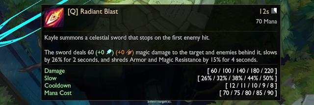 Radiant Blast (Q)