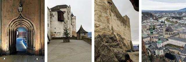 Salzburg in winter: Festung Hohensalzburg