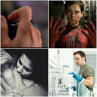 A origem do homem aranha e a origem do homem que lava a louça