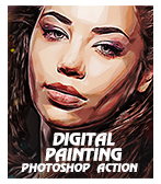\  - Digital 2BPainting 2B1 - Quick Sketch Photoshop Action