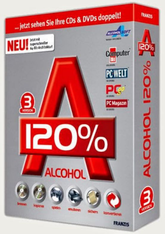 Download Alcohol 120% for PC free full version