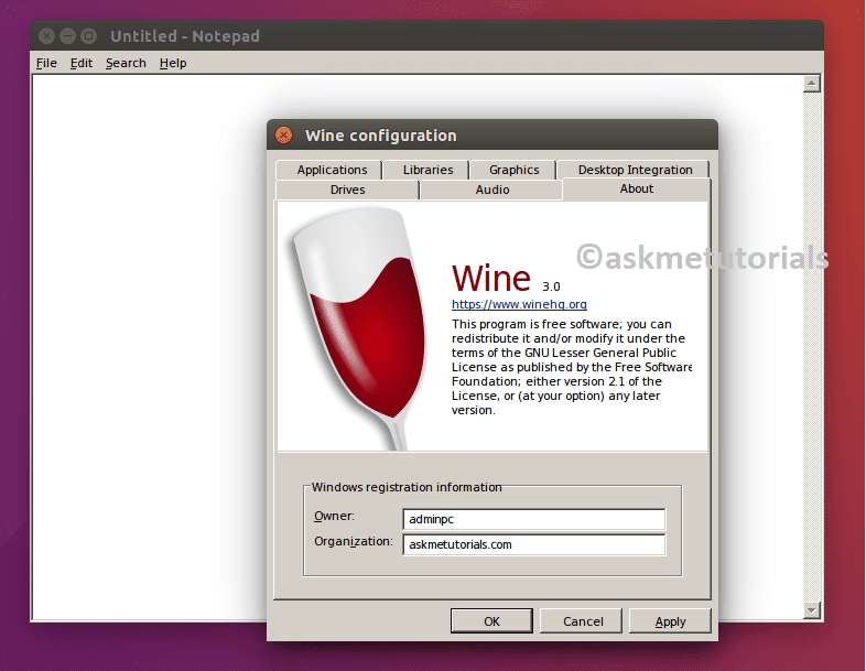 Install / Uninstall Wine 3 0 Stable on Ubuntu / LinuxMint