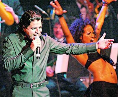 Foto de Luis Enrique en el escenario