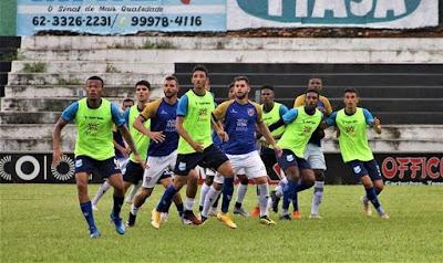 Jaraguá e Grêmio Anápolis terminam empatados em jogo treino