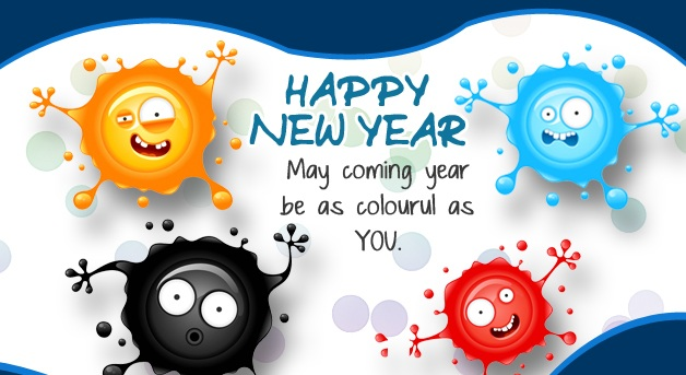 happy new year greetings to girlfriend