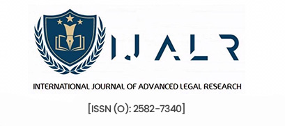 International Journal of Advanced Legal Research