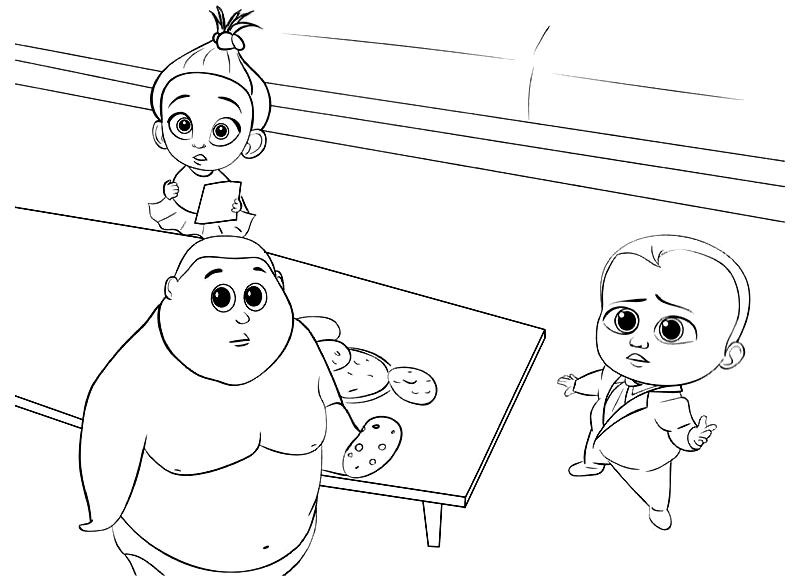 Desenhos de O Poderoso Chefinho para colorir