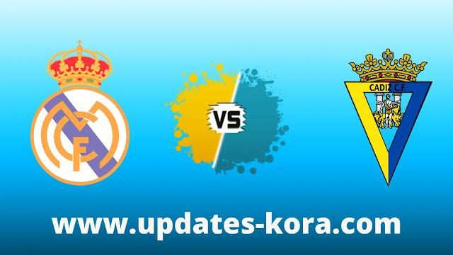 بث مباشر مباراة ريال مدريد ضد قادش اليوم
