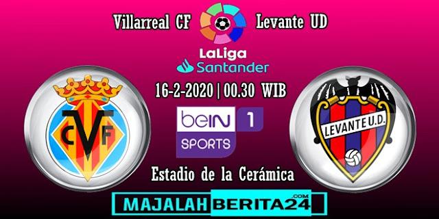 Prediksi Villarreal vs Levante